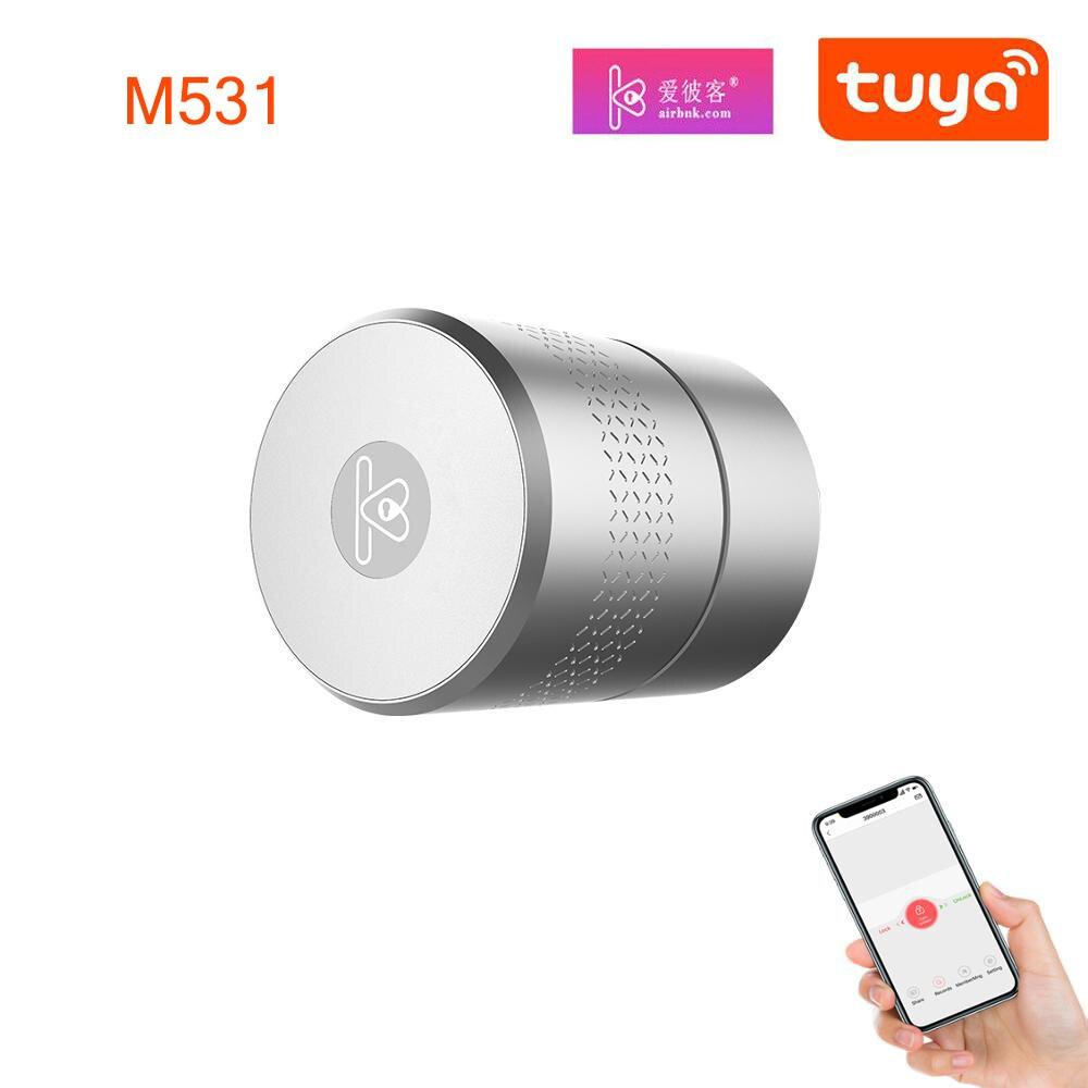 Promo Airbnk M531 Door Lock Stronger Motor TUYA Zigbee Smart Lock Fingerprint Smart Home Remote Control Lock Use Original Cylinder