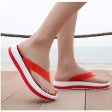 2020 New Women Slippers Flip Flop Ladies Comfortable Female Casual Beach Women's Solid Spring Platform Fashion Plus Size