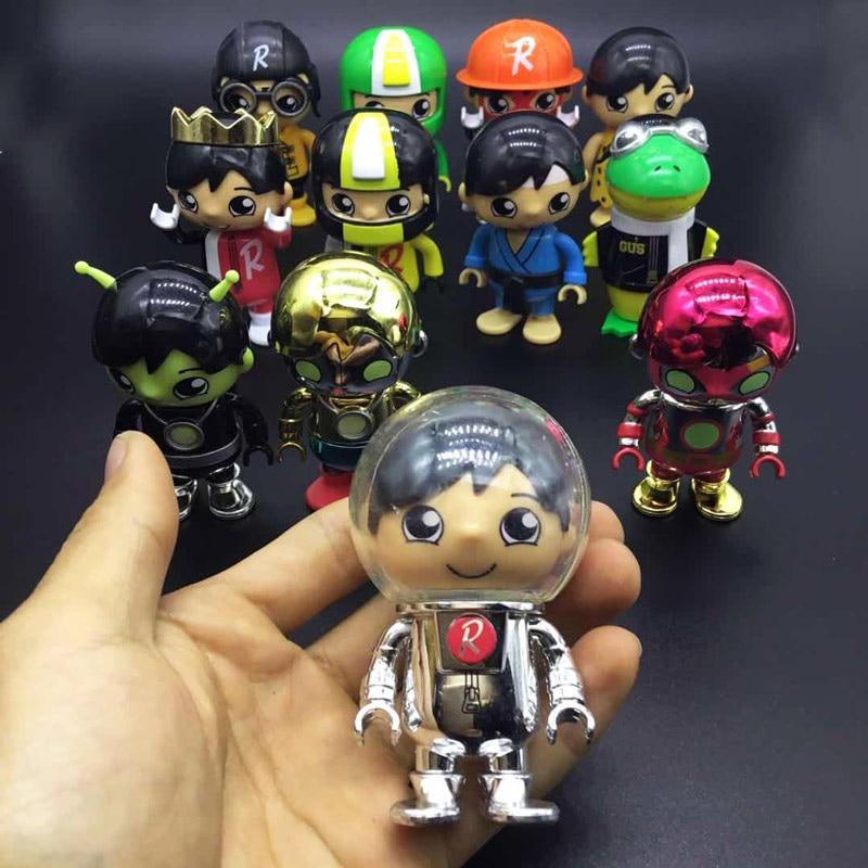 10 pièces/lot flambant neuf figure danime pvc figure Ryan personnages de dessin animé rare figurine figurine modèle collection jouets cadeau pour les enfants