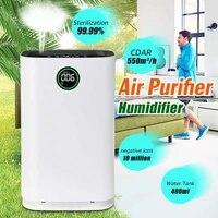 17 large room air purifier for home true hepa filter odor allergies remover for smoke dust vocs pollen pet dander