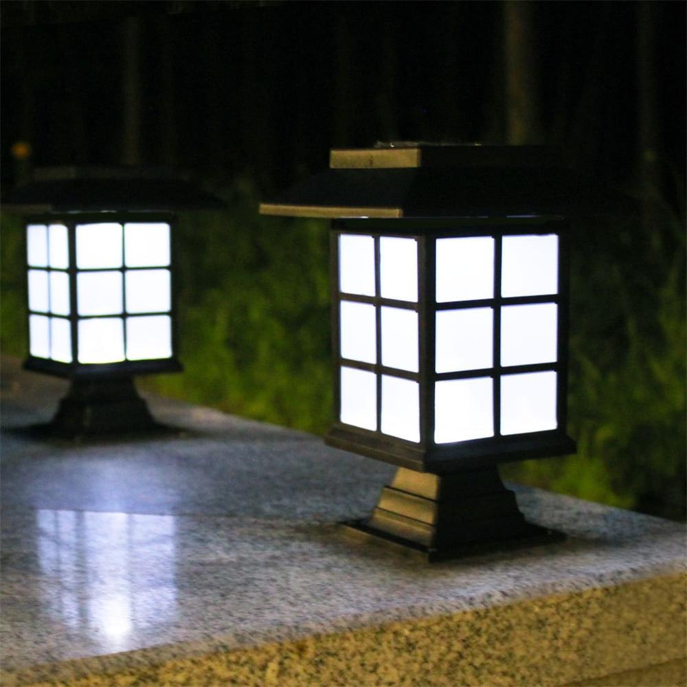 Уличная Светодиодная лампа на солнечной батарее, водонепроницаемый фонарь для дорожек, освещение для сада, ландшафта, двора, патио, подъезд...