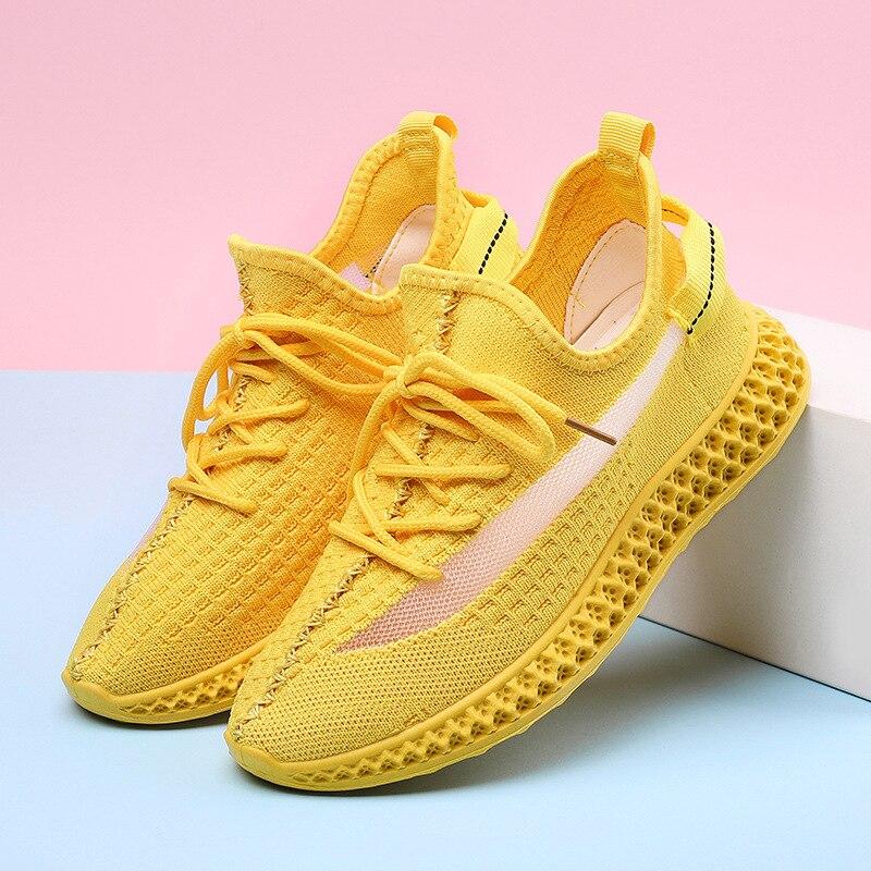 Zapatos para correr para mujer, zapatillas ligeras al aire libre para niñas, zapatos transpirables de plataforma plana, zapatos para correr para mujeres, zapatos para correr