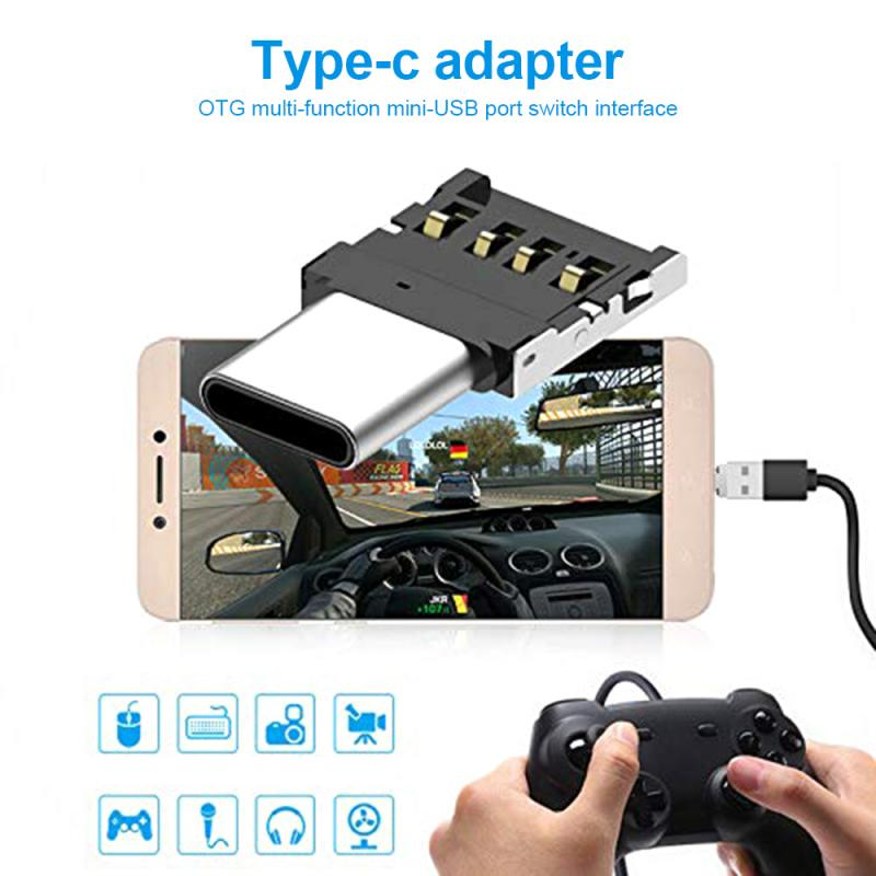 Multi-function Type-c Adapter OTG Converter USB Micro-transfer Interface Adapter For Type-C Enabled