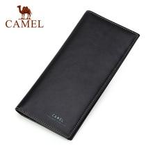 الجمل محفظة محفظة جلدية طويلة الذكور الشباب حامل بطاقة الموضة العمودي الرجال محفظة الكورية حقيبة اليد