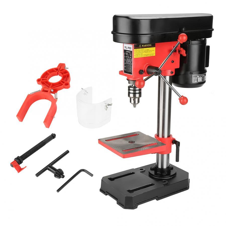 Mini Bench Drill Press Stand Workbench Mounted 350W 5 Speed 50mm US Plug 110V