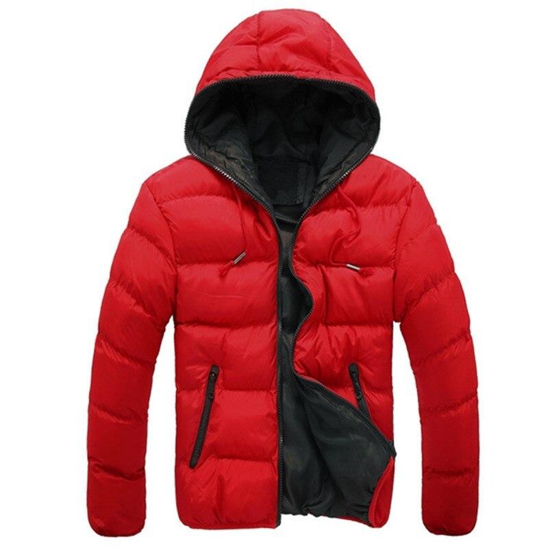 brand men down jacket casual fashion winter jacket for men Hooded windbreaker duck coat male outwear clothing