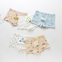 5Pcs/lot Girl Boys Underwears Pants Kids Boys Cotton Panties Baby Child Cartoon Kid For Girls Underwear Boxer Panty Briefs