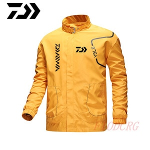 2020 Winter Daiwa Fishing Shirts Outdoor Hiking Trekking Quick Dry Fishing Jacket Men Anti Uv Thin Breathable Fishing Clothes