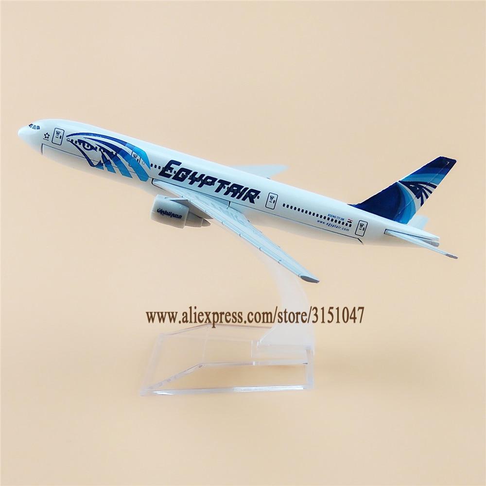 16cm ar egito egyptair boeing 777 b777 companhias aereas airways aviao modelo de