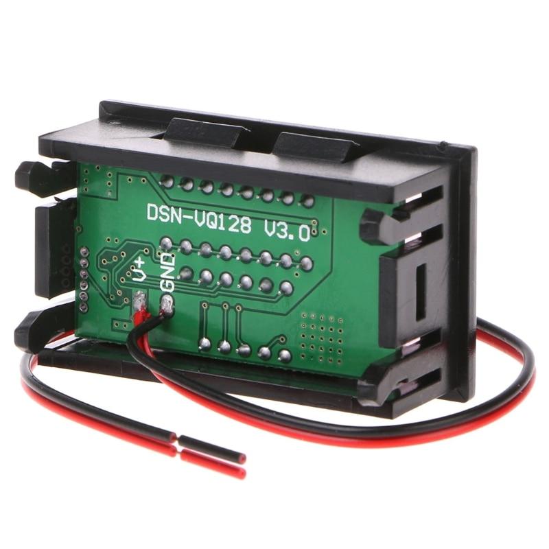 New DC 12V-72V Lead-acid Digital Battery Capacity Indicator Charge Tester Voltmeter Measurement & An
