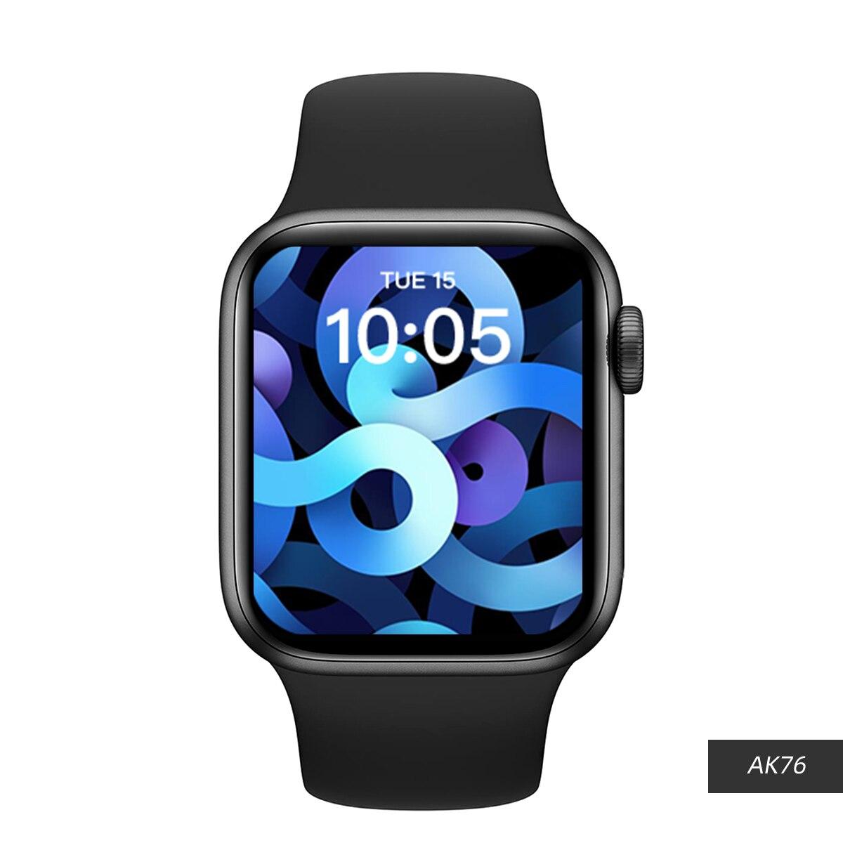HW22 زائد ساعة ذكية النساء الرجال AK76 ألعاب ساعة 44 مللي متر HW33 Smartwatch بلوتوث دعوة HW16 معدل ضربات القلب 1.75 بوصة ل IOS أندرويد