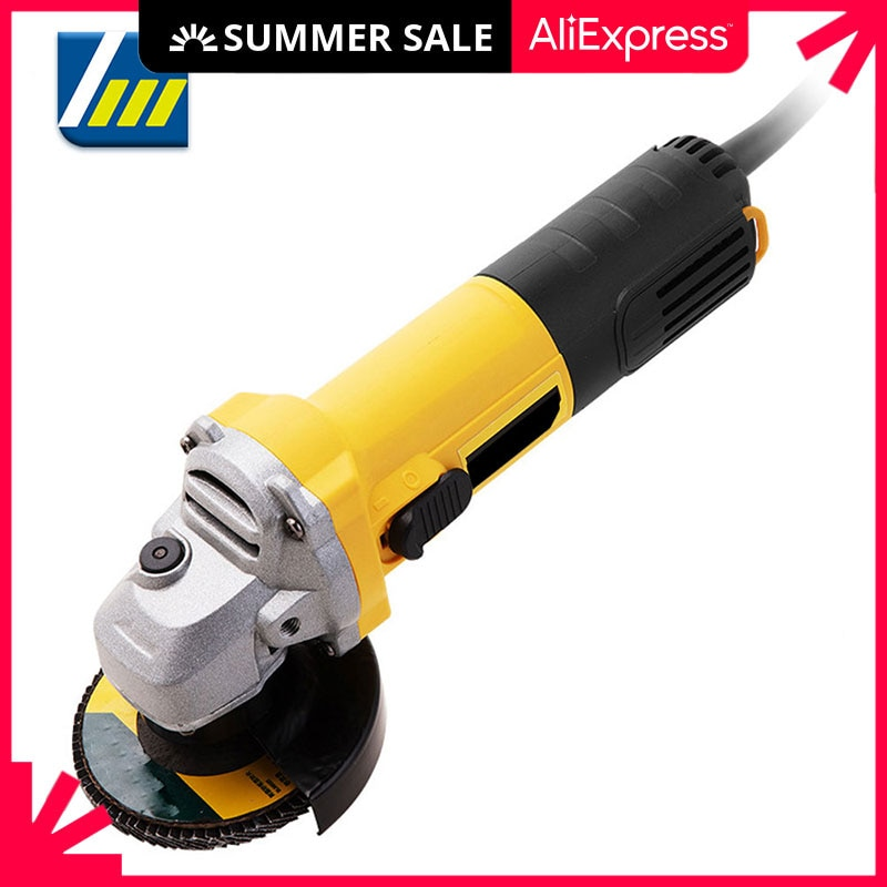 aliexpress.com - 220V Electric Angle Grinder 1050W 125mm 6-Variable Speed 3000-10000 RPM Tool Less Guard for Cutting Grinding Metal Power Tools