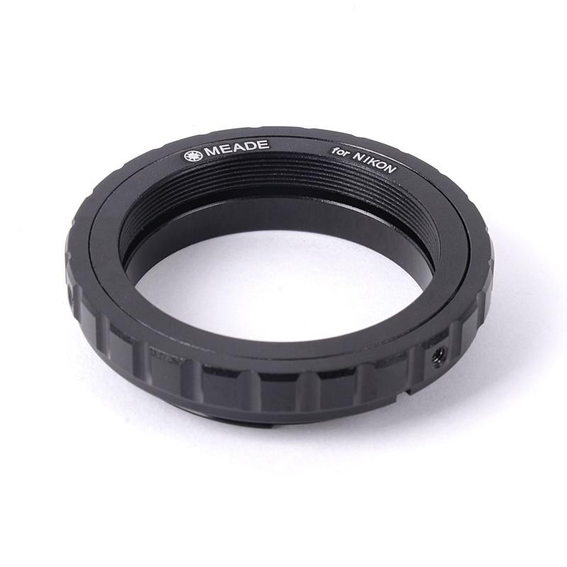 MEADE SLR anillo adaptador de cámara para Canon Nikon SLR Cámara conectar astronómico telescopio fotografía y vídeo Material de Metal