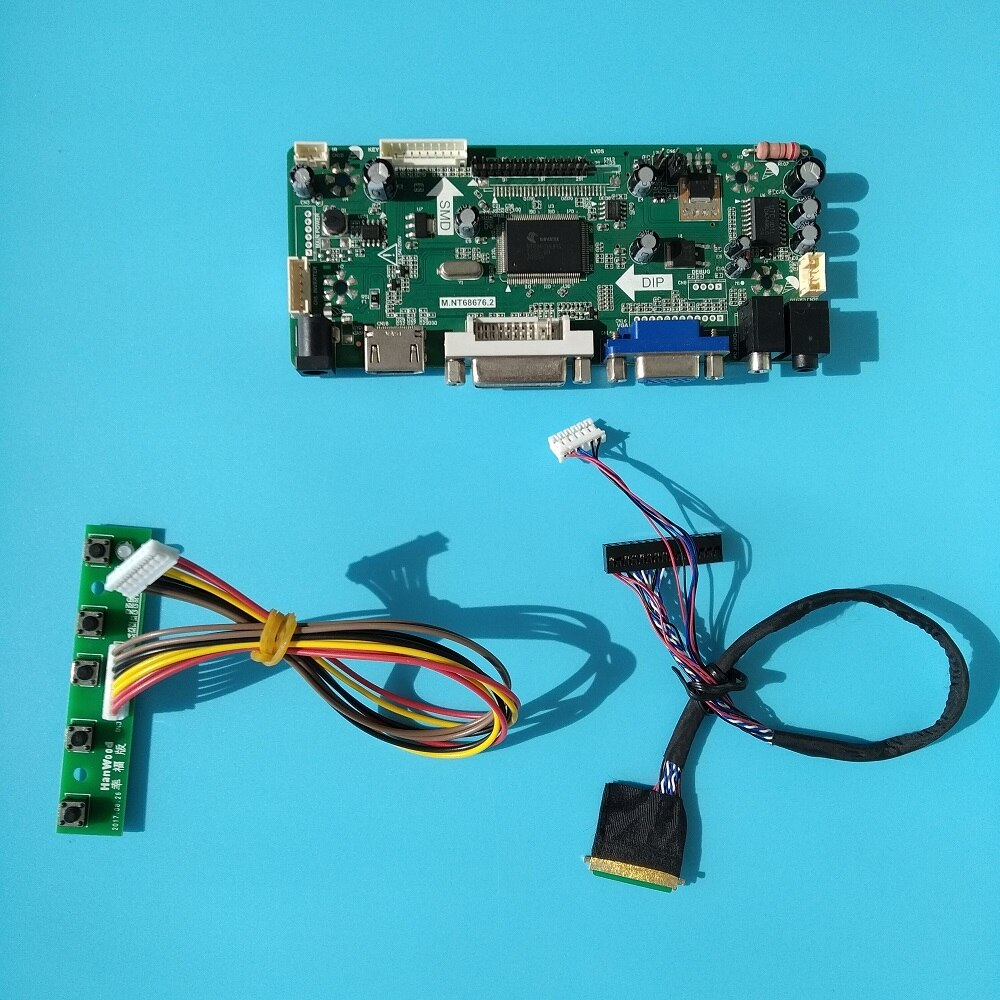 LCD LED HDMI DVI VGA كيت LVDS سائق Aduio 40pin المراقب المجلس ل N156BGE-L11/N156BGE-L21 1366X768 لوحة الشاشة