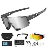 2021 new cycling glasses polarized sunglasses outdoor sports eyewear windproof cycling goggles bicycle night vision goggles gift