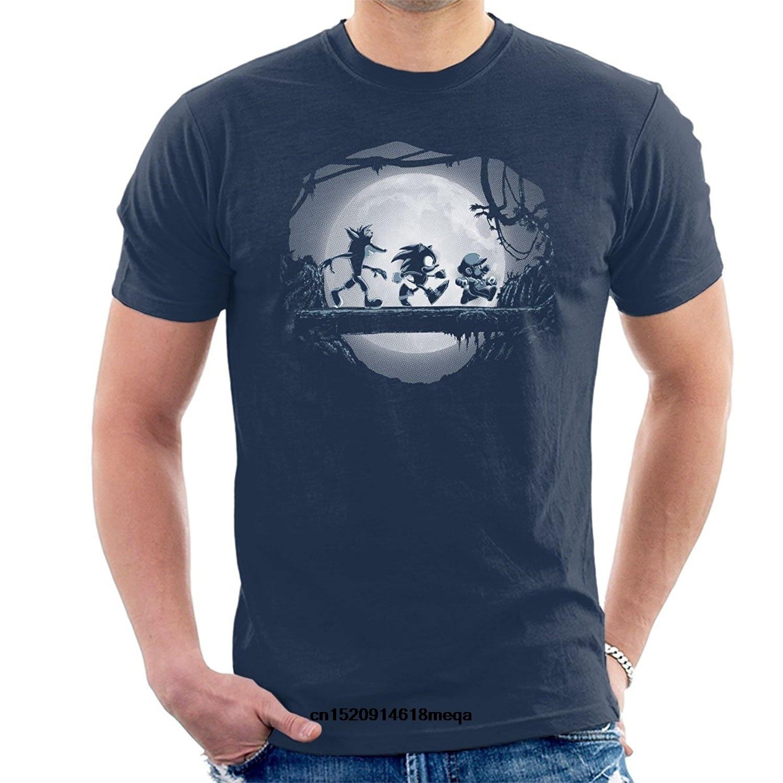 Футболка игровая Матата Марио Ежик Краш Бандикут Мужская мода футболка