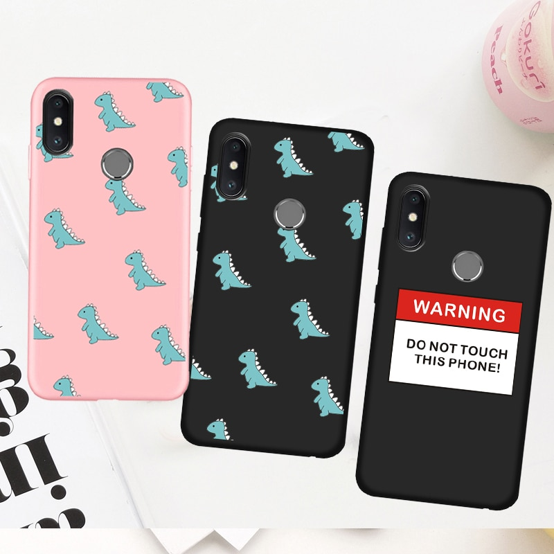 Cute Dinosaur Silicone Cover Case for Samsung Galaxy A6 A7 A8 A9 J4 J6 J8 2018 Plus A3 A5 A7 2016 2017 Phone Case Fundas Coque