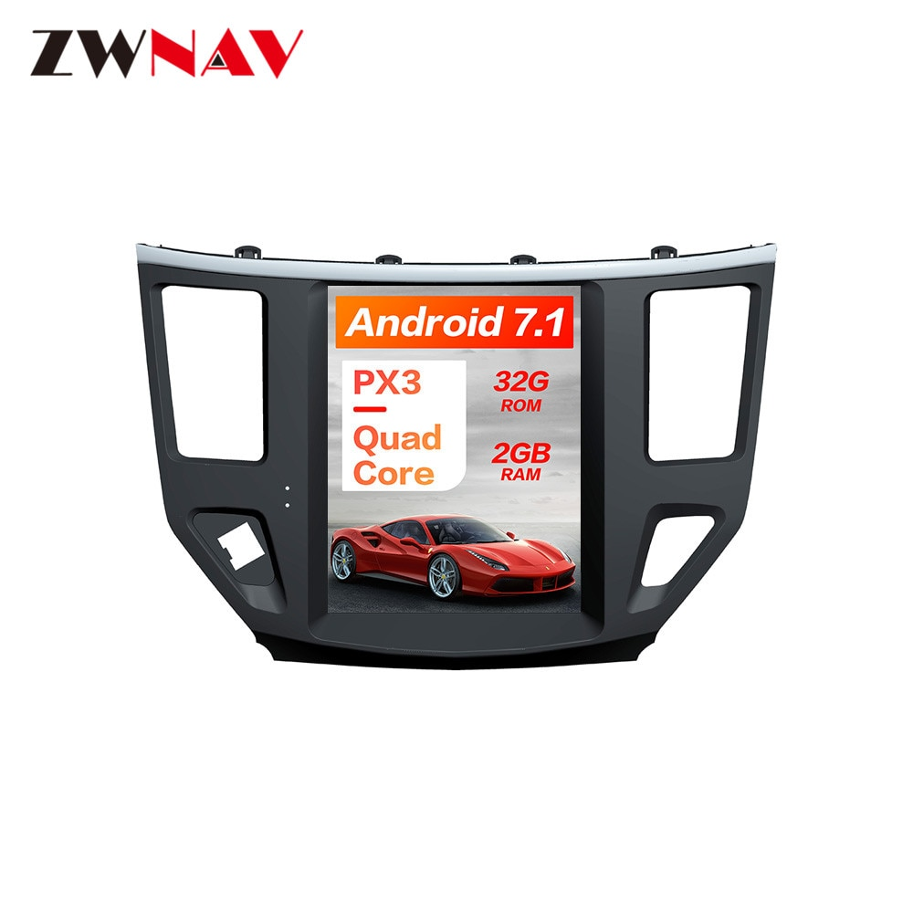 Estilo Tesla Android 7,1 navegación de GPS para coche sin reproductor de DVD para Nissan Pathfinder 2012 + Radio Estéreo Player cinta grabadora Unidad Principal