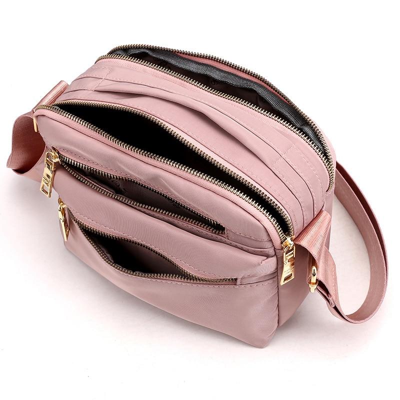 Designer Girls Shoulder Messenger Bag For Women 2021 Nylon Multi-Purpose Purse Crossbody Tote Handba