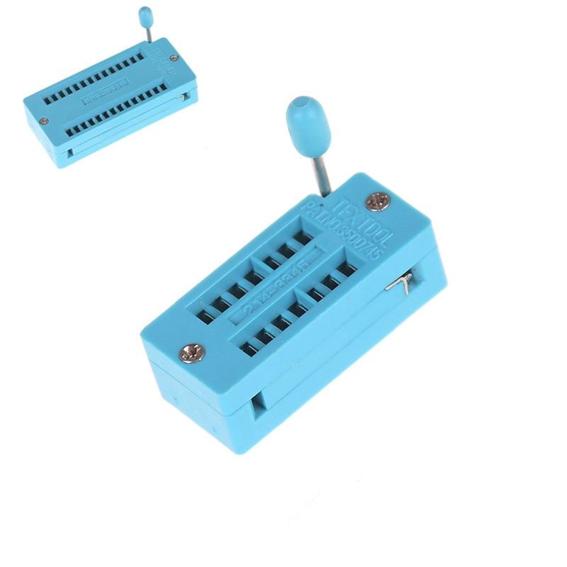 Universal  IC Test Universal ZIF Socket Hot Home Improvement 14/16/18/20/24/28/32/40 pin IC Test Universal ZIF Socket
