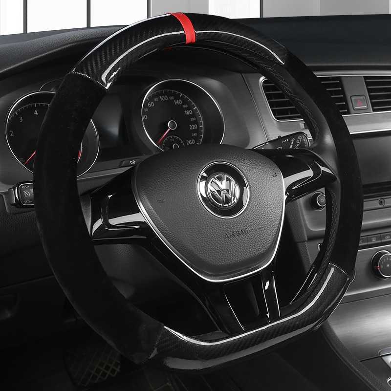 AliExpress - D Shape Car Steering Wheel Cover PU Leather For Nissan Qashqai J11 Nissan X-trail T32 Golf 7 Tiguan 2019 2020 Kia Optima K5 2021