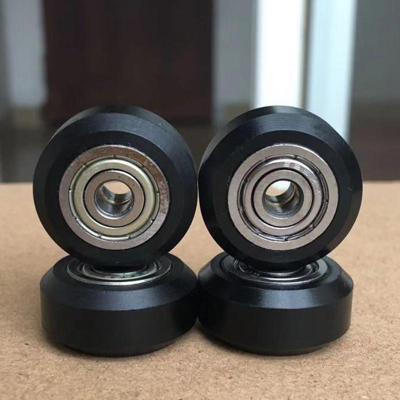 20Pcs/Slot POM Plastic Wheel Pulleys Ball Bearings 625ZZ 3D Printer Parts Round Idler Gear Perlin Part V 3D Printer Accessories