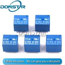 5 pièces 5V 6V 9V 12V 24V relais de puissance cc SRD 05VDC 06VDC 09VDC 12VDC 24VDC SL C 5 broches pour PCB nouveau et Original