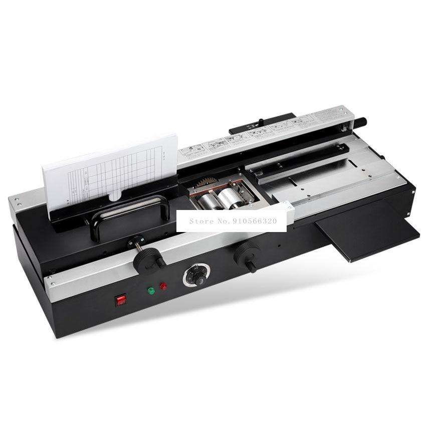 WD-40A حجم A4 صمغ يسيح بالحرارة ماكينة تجليد ماكس 4 سنتيمتر سماكة ألبوم صور كتاب ورقة الموثق 200 كتب/ساعة عالية الكفاءة 220 فولت