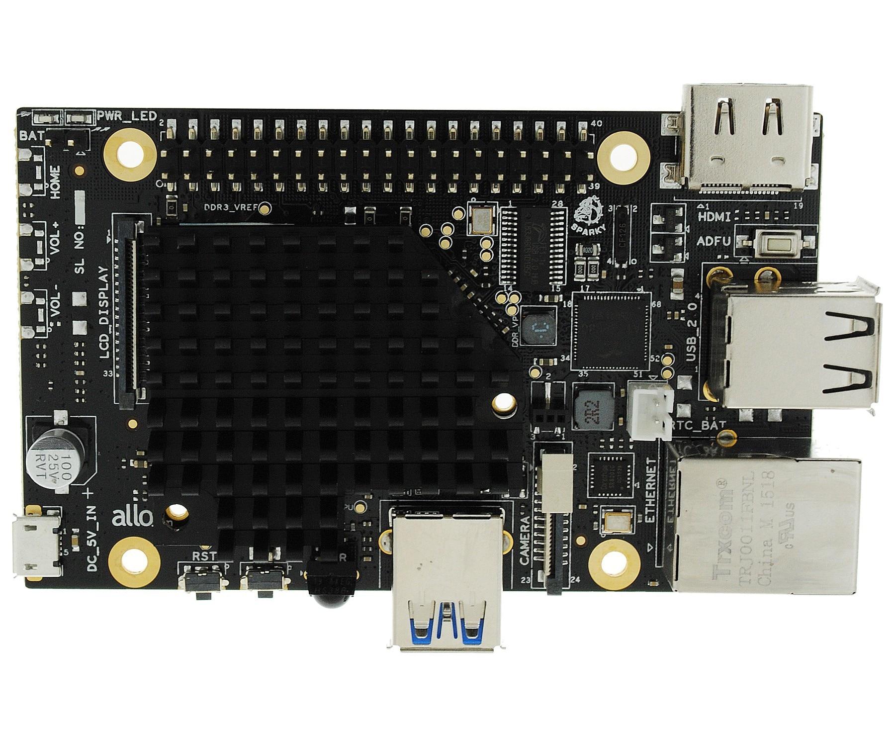 27mV USB Allo Sparky SBC de Audio de red de DaemonPlayer Roon...