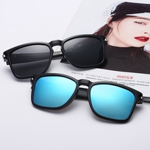 Classic Colorful Coated Polarized Sunglasses For Men Boys Vintage PC Frame Men's Cycling Sun Glasses