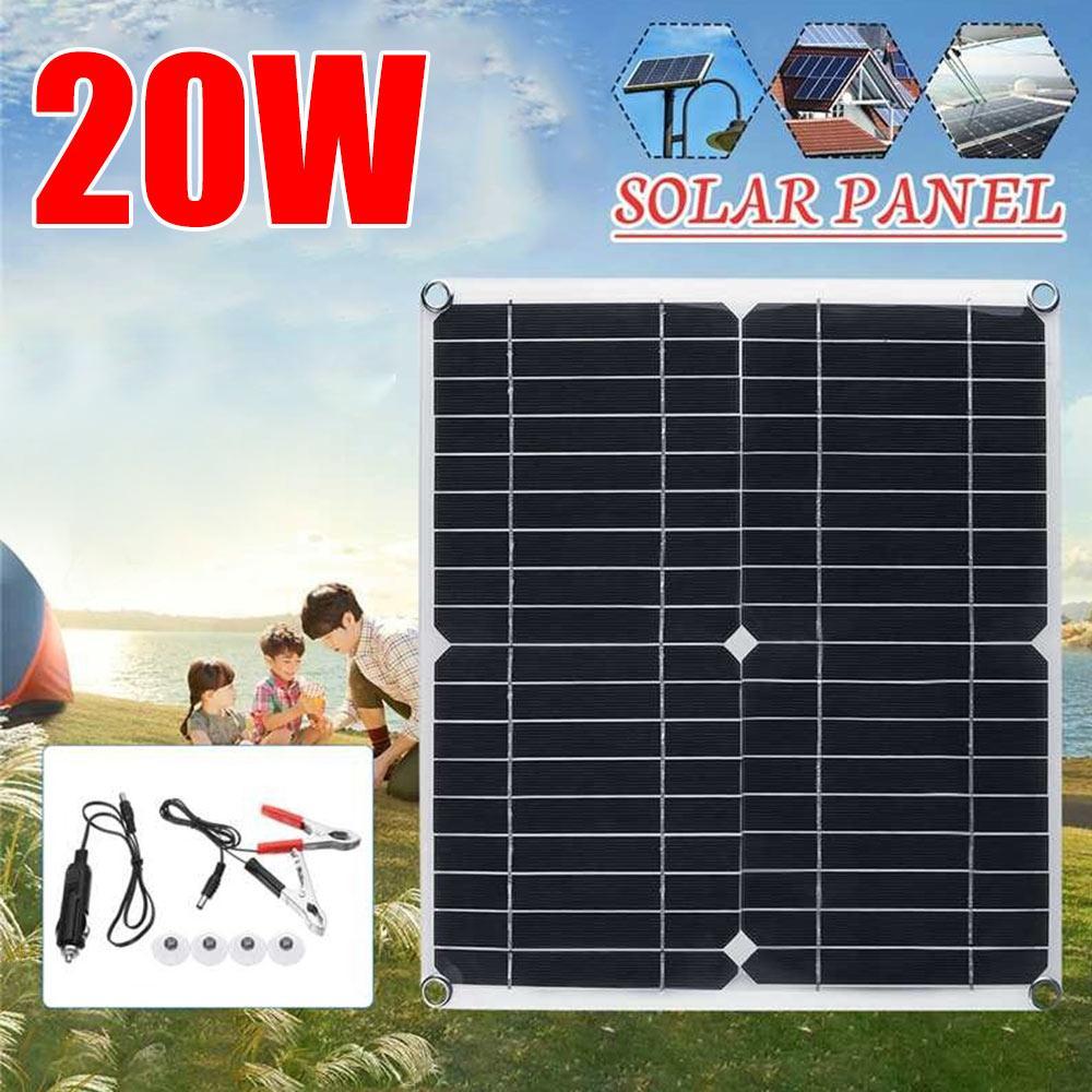 معدات شحن الطاقة الشمسية لوحة طاقة شمسية شاحن سيارة قابلة لإعادة الاستخدام دائم أحادية السيليكون 280*280 مللي متر بالطاقة الصغيرة لتقوم بها بنف...
