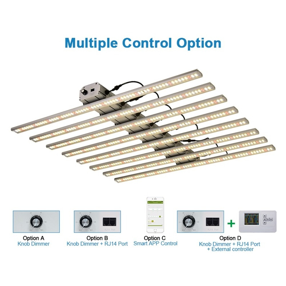 Led Light Bar Full Spectrum Lamps Hydrponic Growing Supplies 480/640/800/1000W Samsung LM301B Aeroponics System Plangting Indoor enlarge