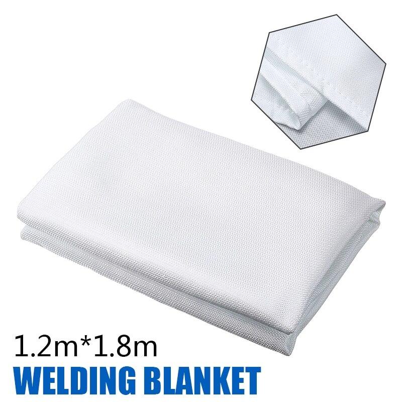 1.8m*1.2m Flame Retardant Blanket Emergency Survival Shelter Fire Welding Blanket Fiberglass Safety Cover Protective Equipment