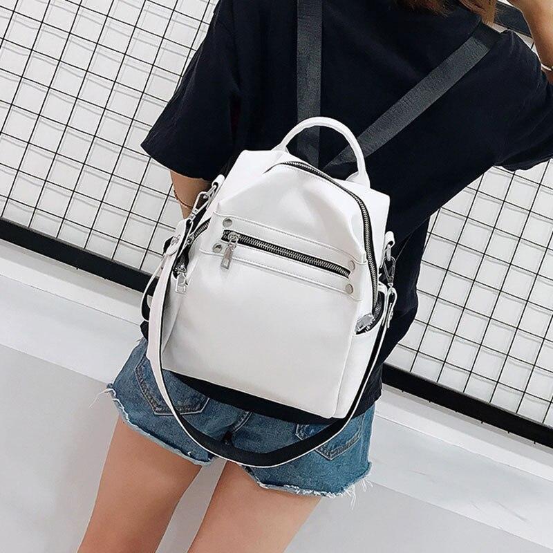 Модный женский кожаный рюкзак SEETIC, повседневный женский рюкзак, сумка, 2021 ПУ, маленькие женские рюкзаки, сумка, рюкзак для женщин