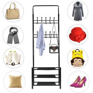 Coat and hats Hanger Lightweight and convenient hanging coat rack clothes rack multi-purpose hats Shoes coat rack Organizer HWC