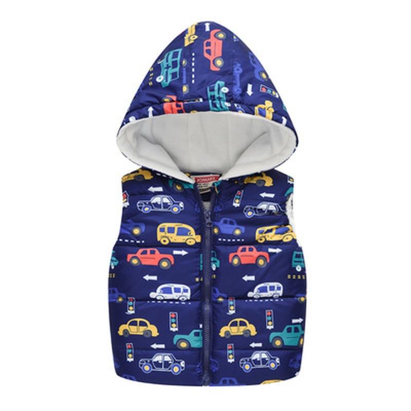 Girls Winter Vest Baby Clothes Cotton Jackets Boys Clothing Sleeveless Coat Children Jacket Coats Ho
