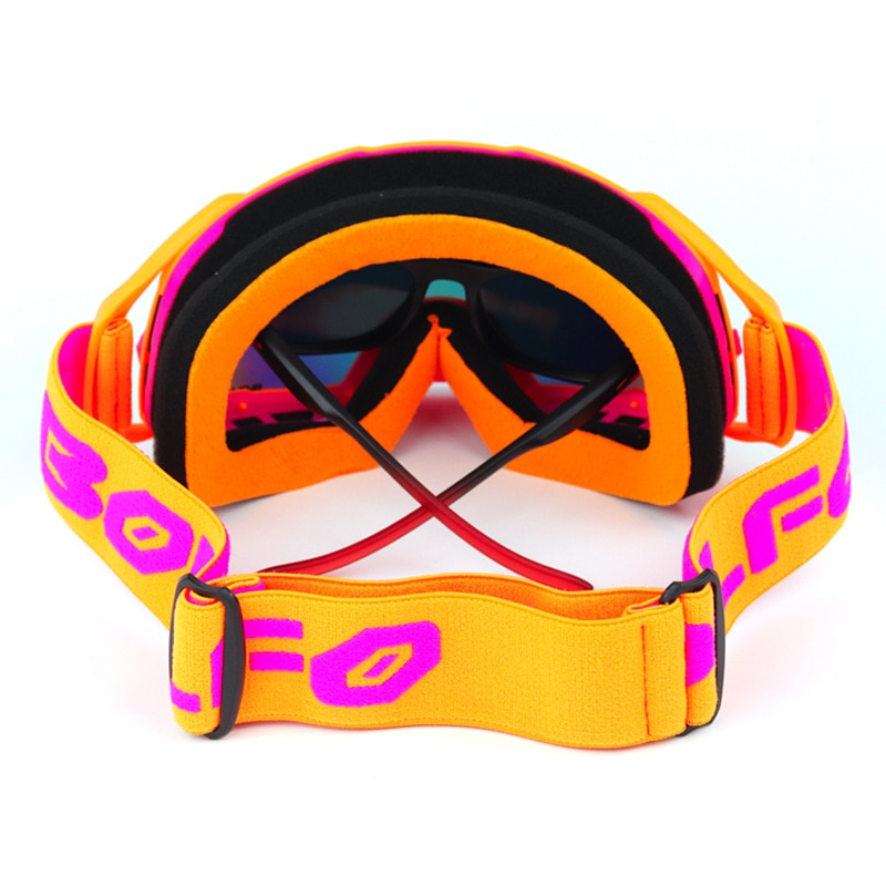 New cylindrical Goggles Motorcycle windbreak goggles mountaineering goggles cross country wind lens helmet goggles enlarge