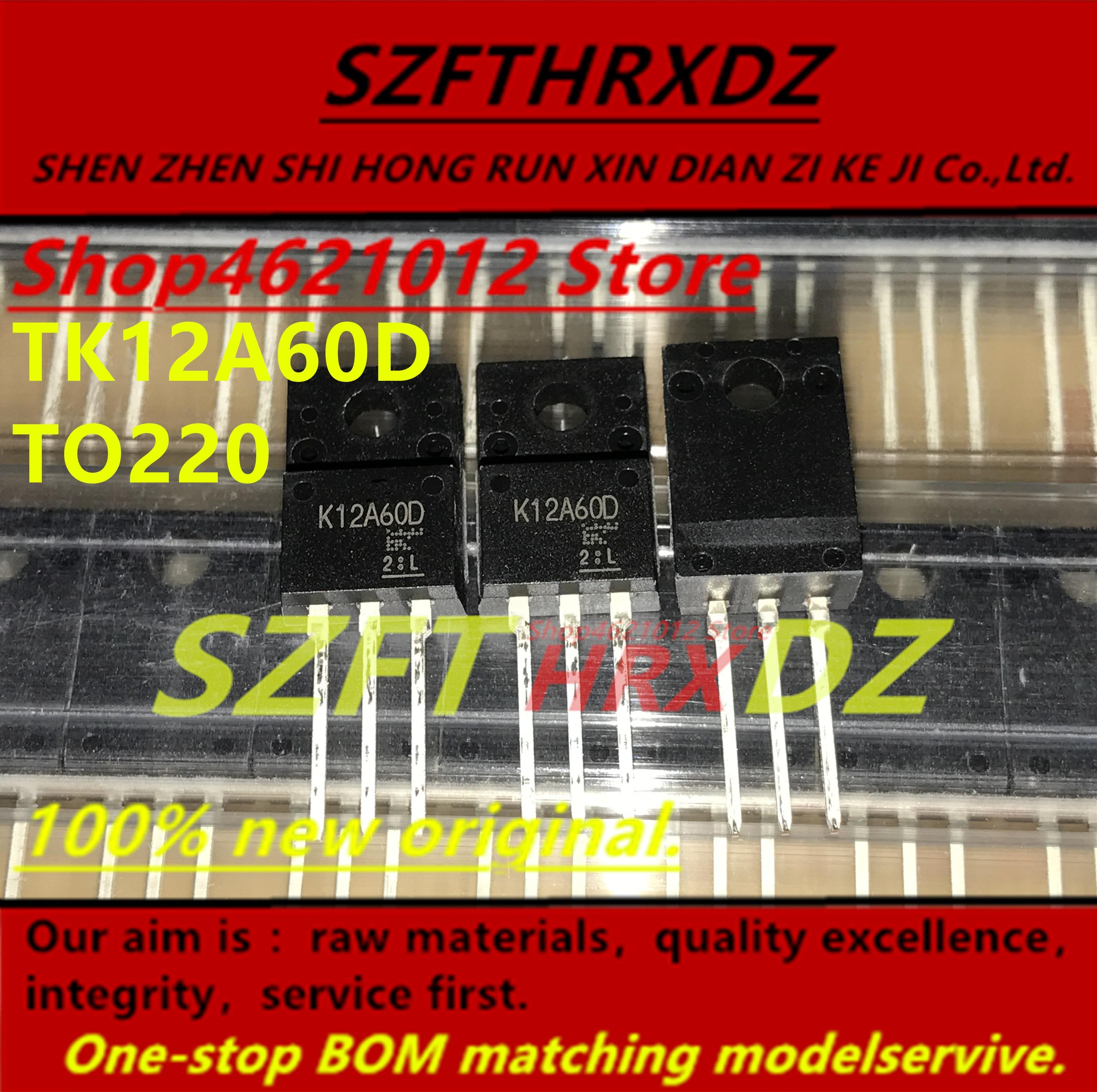 SZFTHRXDZ 100% original Nuevo 2018 (10 UDS-50 uds) TK12A60D K12A60D TO220