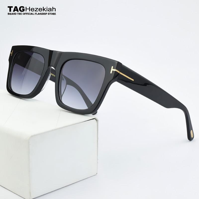 الفاخرة العلامة التجارية شفافة النظارات الشمسية النساء 2021 جديد vintage النظارات الشمسية الرجال UV400 الرجعية التقدمية نظارات شمسية للنساء TF5634-B