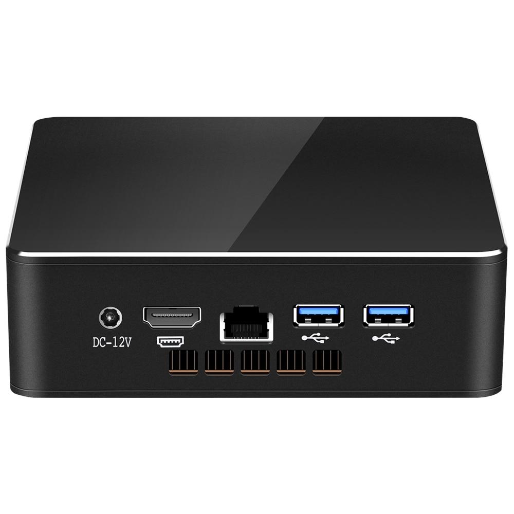 XCY Mini PC Intel Core i5-4200U 8GB RAM 128GB SSD Windows 10 300Mbps WiFi HDMI Display Gigabit Ethernet Nettop HTPC enlarge