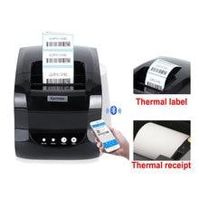 127 mm/s port USB 20mm-80mm imprimante détiquettes de codes à barres imprimante dautocollants imprimante de codes à barres thermique imprimante de reçus thermique 58mm ou 80mm