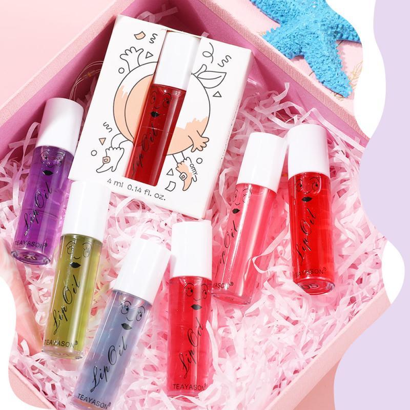 TEAYASON 6 цветов, прозрачный зеркальный водный блеск для губ, жидкая губная помада, набор для губ, Длительное Действие, косметический оттенок дл...