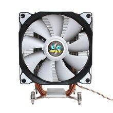 HOT-LANSHUO CPU silencieux ventilateur unique 4 caloduc 3 fils ventilateur refroidisseur de processeur pour Intel LGA 2011 carte mère de fond de panier autonome