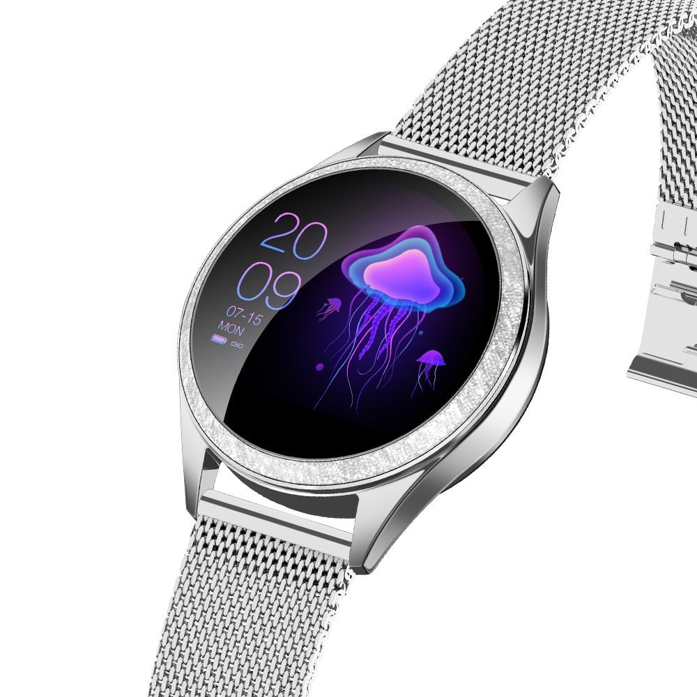 KW20 physiological cycle reminder IP68 wrist lifting bright screen dynamic dial women's kw10pro smart Bracelet Watch enlarge