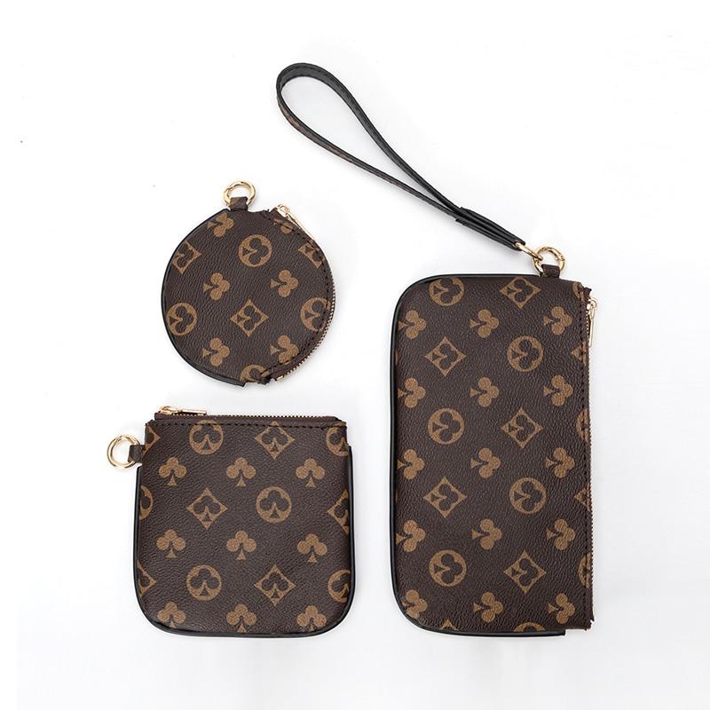 Брендовые дизайнерские кошельки для монет, кожаные кошельки, женский роскошный клатч с длинной кисточкой, кошельки для телефона, держатель ...