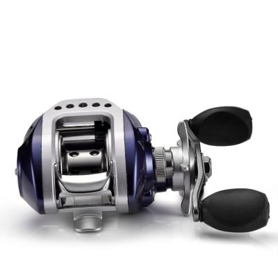 Ebay road sub-wheel 11-axis drip wheel explosion-proof line magnetic brake all-metal head drip wheel fish wheel