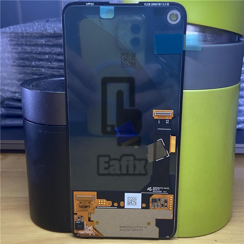 Brand New Original 100% Tested for Google Pixel 4A LCD Display Screen Touch Digitized Assembly Replacement Pixel 4 A G025J LCD enlarge