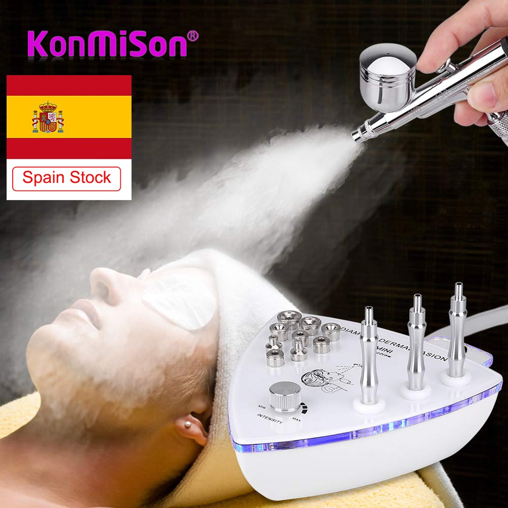 Diamond Microdermabrasion Machine Dermabrasion Facial Peeling Skin Care Salon Equipment Vacuum Spray Suction Home Use Device