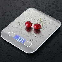 5kg 10kg1g digital kitchen scales stainless steel lcd electronic food diet postal balance measure tools weight libra