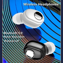 L16 mini Bluetooth Earphone Wireless Headphones Bass Stereo Sport Earbuds in Ear With Mic For phone